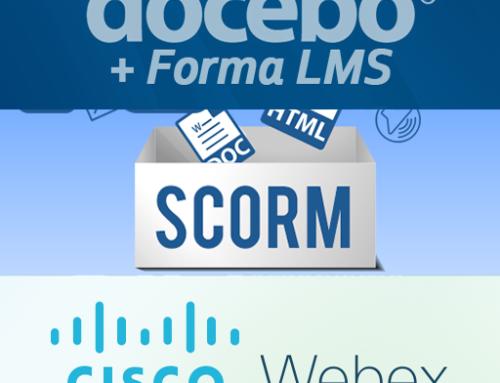 Integrazione WebEx Training Center, con creazione oggetti SCORM di collegamento